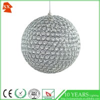 Modern Ball Metal Acrylic Shade Ktv Bar Decorative Hanging ...