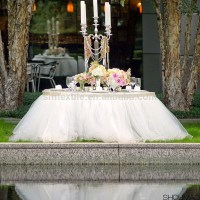 Handmade Table Cloth Wedding/party Tulle Table Skirt - Buy ...