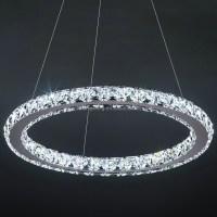 Modern Crystal Circle Chandelier - Buy Circle Crystal ...