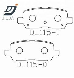 china gm brake pad china gm brake pad manufacturers and suppliers on alibaba com [ 1000 x 1000 Pixel ]