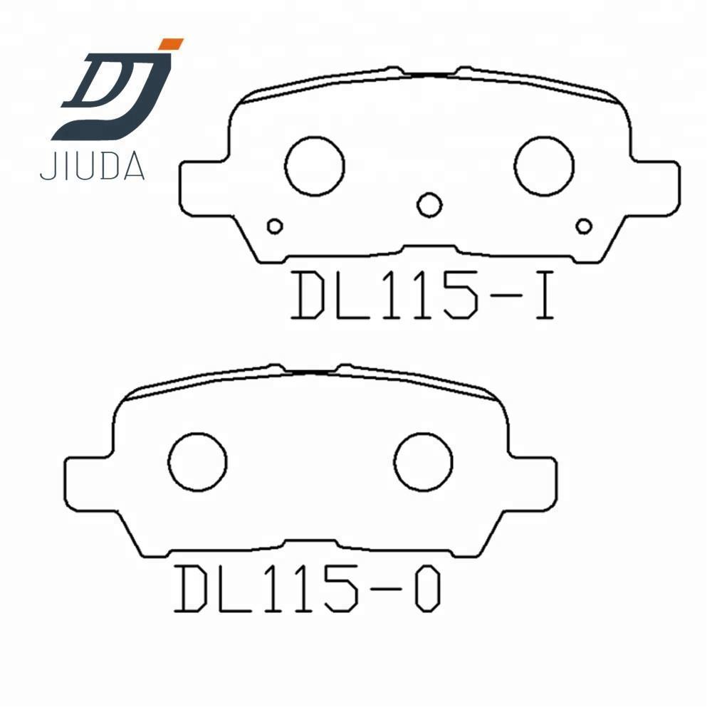 medium resolution of china gm brake pad china gm brake pad manufacturers and suppliers on alibaba com