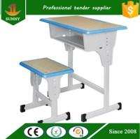 Ergonomic Style Plywood Adjustable Height Children Desk ...