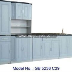 Kitchen Cabinet Set Tray Modern With Sink Malaysia Home Furniture Big