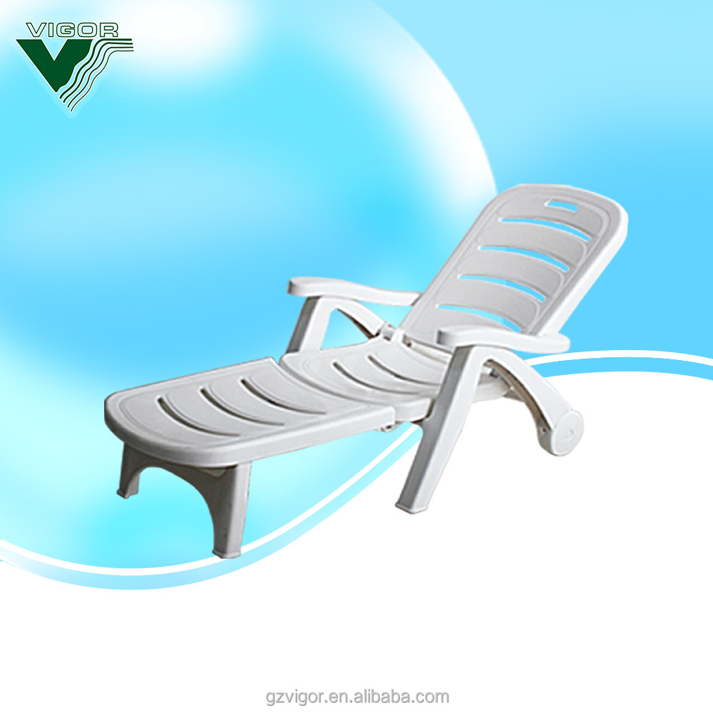 Plastic Lounge Chair Plastic Beach Chair Beach Chaise Lounge Buy Beach Chair Beach Chaise Lounge Plastic White Color Plastic Sun Bed Plastic Sun Lounge Chair Product