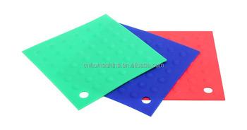kitchen hot pads hampton bay cabinets silicone rubber pot holder trivet mat durable heat resistant