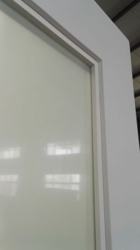 Hotel Frosted Glass Sliding Barn Door