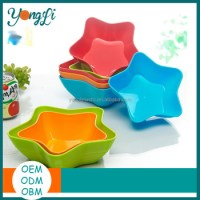Cut Star Shape Color Plastic Plates For Fruit - Buy ...