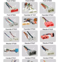16 pin pioneer car radio stereo iso wiring harness manufacturer [ 756 x 3000 Pixel ]