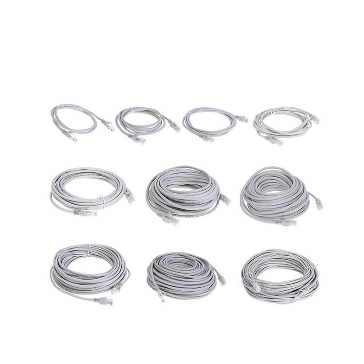 High Quality Network System Cable 1 Meter Gray Color Bare