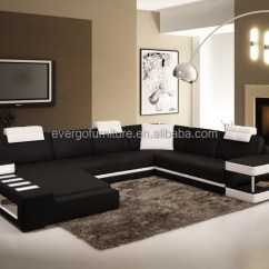 Corner Living Room Table Small Furniture Arrangement In India Sofa Sectional Couch With Led Light Buy Set Elegant Product On