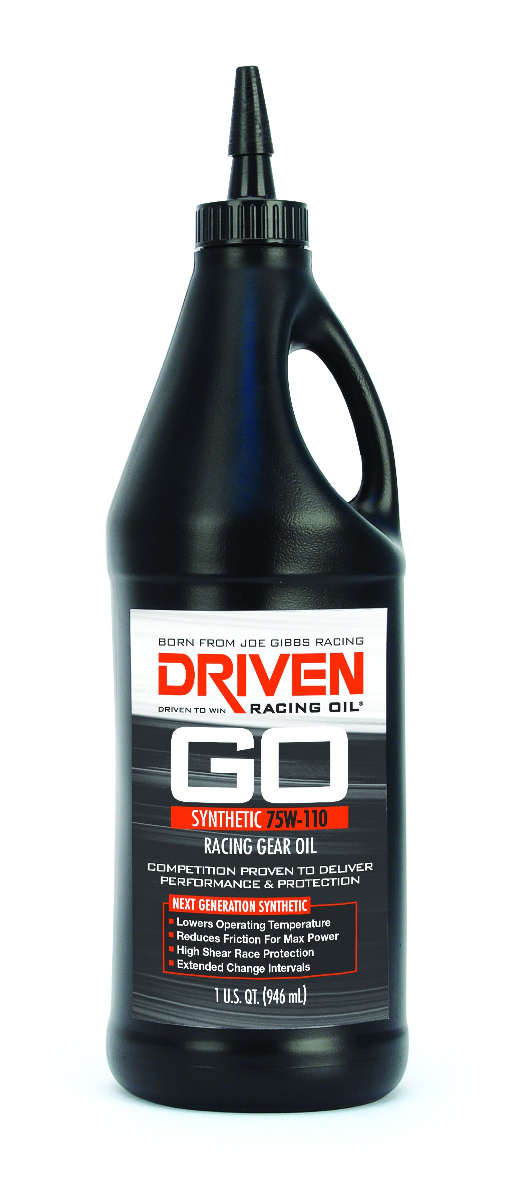 hight resolution of get quotations joe gibbs driven racing oil 00630 75w 110 synthetic gear oil 1 quart bottle