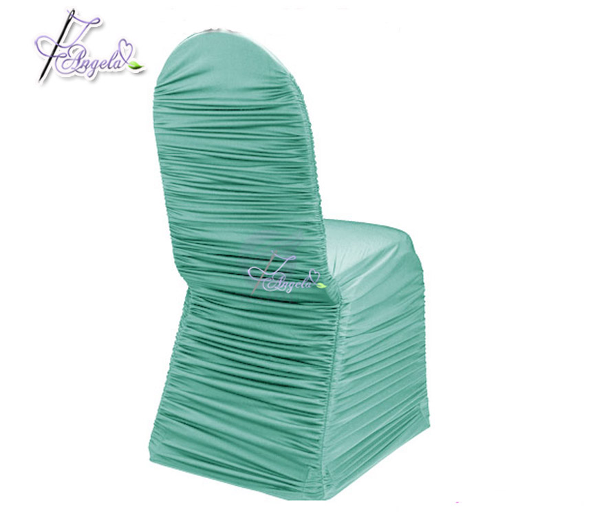 chair covers direct from china folding rental vancouver wholesale banquet pleated online buy best factory sale light green cheap ruffled strong