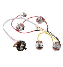 cheap guitar wiring parts find guitar wiring parts deals on line at 2v 2t 4500k pots 3way switch input jack wiring for gibson lp guitar [ 1024 x 1024 Pixel ]