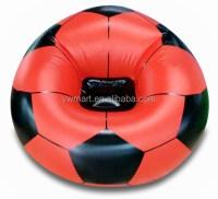 Red Blue Black Football And Basketball Air Sofa Chair ...