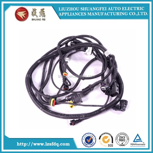 small resolution of dump truck wire harness and trailer harness asm rr object alarm sen wrg