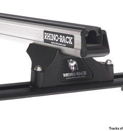 get quotations rhino rack chrysler voyager 4dr van 2001 to 2003 heavy duty rltp trackmount silver 2 [ 1500 x 804 Pixel ]