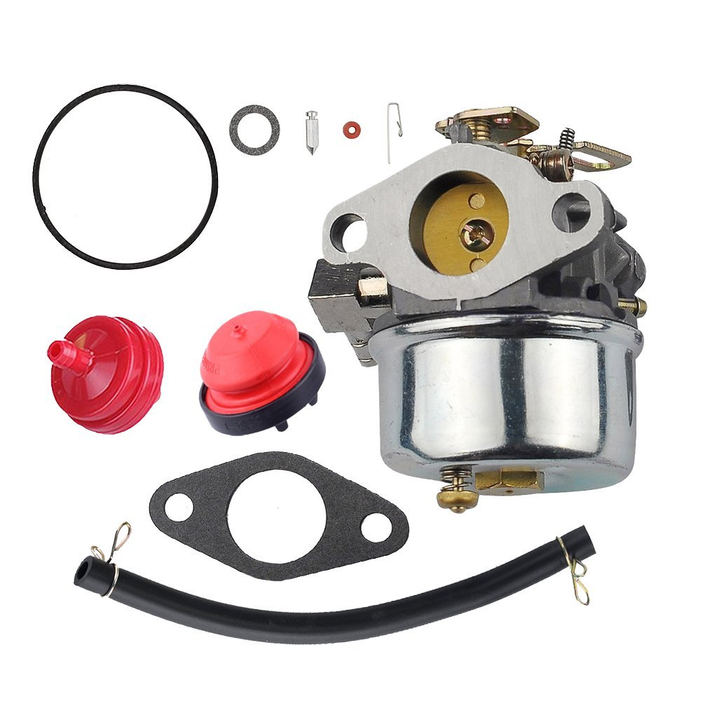 hight resolution of get quotations savior carburetor 640298 with gasket fuel pump line clamps fuel filter inlet needle kit for tecumseh