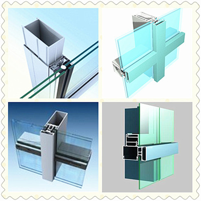 Commercial Frameless Glass Curtain Wall Exterior Panel For