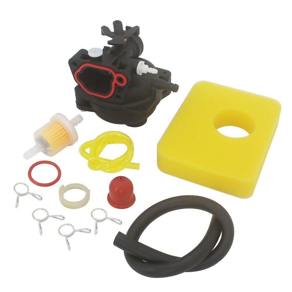 medium resolution of kipa carburetor air filter fuel filter maintenance kit for briggs stratton 590556 lawn mower edger