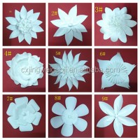 Giant Paper Flower Wall Backdrop Decoration - Buy Paper ...