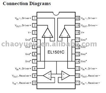 El6273cu 3-channel Laser Diode Driver W/oscillator & Apc