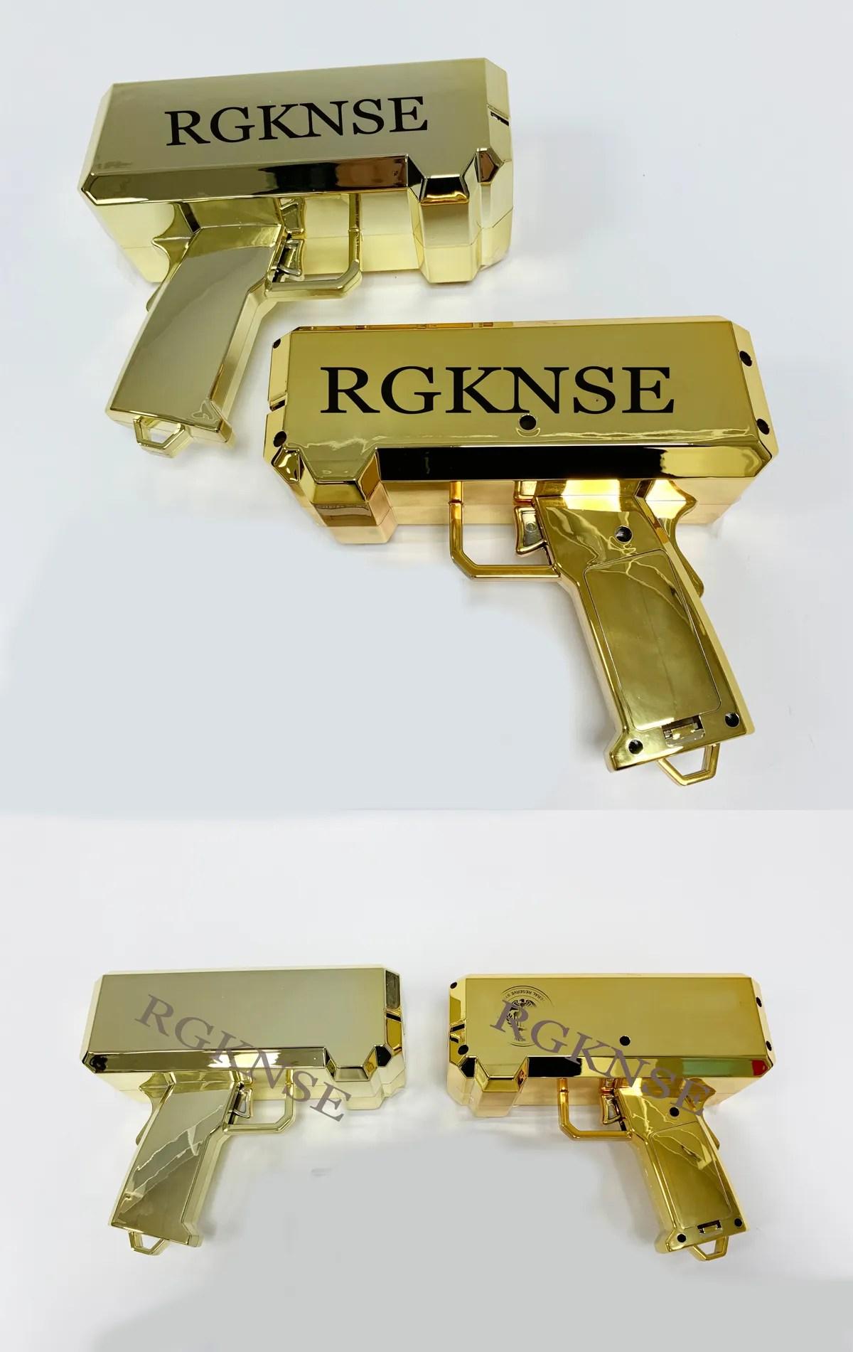 Money Gun: 'Make It Rain' Money Dispensing Cannon Gun