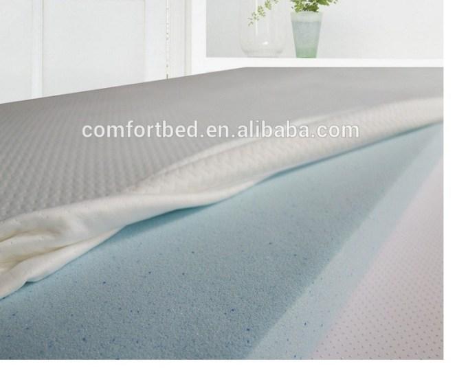 Comfort Memory Foam Mattress Topper Gel Latex