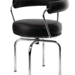 Le Corbusier Chair Cockpit Gaming Lc7 Armchair Stainless Steel Frame Swivel Buy