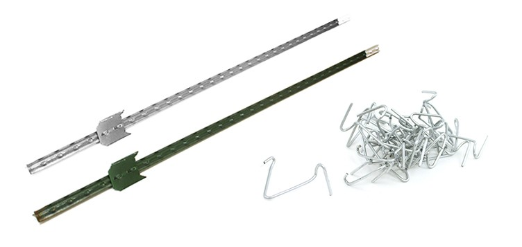 Barbed Wire Fencing Poles Hot Dipped Galvanized T Post