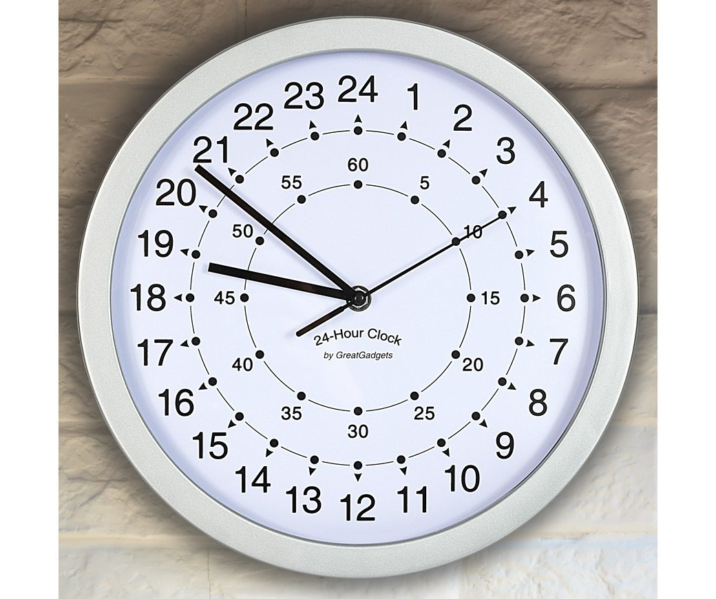 Buy Greatgadgets 24 Hour Clock In Cheap Price On