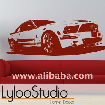 """Wall Decal """"mustang Shelby"""""""
