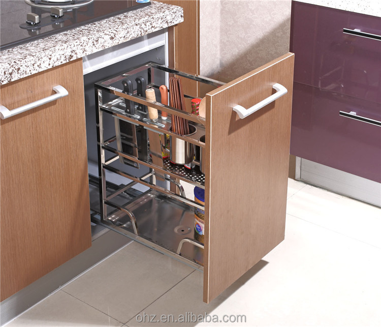 Home Choice Stainless Steel Kitchen Cabinet Pull Out