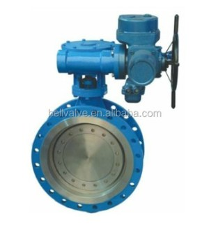 Electric Motor Operated Valve  Large Size Butterfly Valve