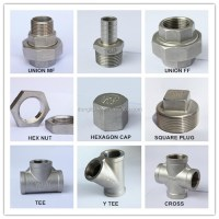 China Supplier Stainless Steel Screwed Pipe Fitting