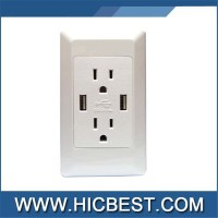 List Manufacturers of Usb Wall Outlet Sockets, Buy Usb ...