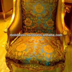 Alibaba Royal Chairs Heavy Duty Aluminum Sports Chair Furniture Style French Antique Gold Sofa Set Buy