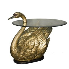 Kitchen Table Base Settee For Brass Dining Swan Buy Product On Alibaba Com