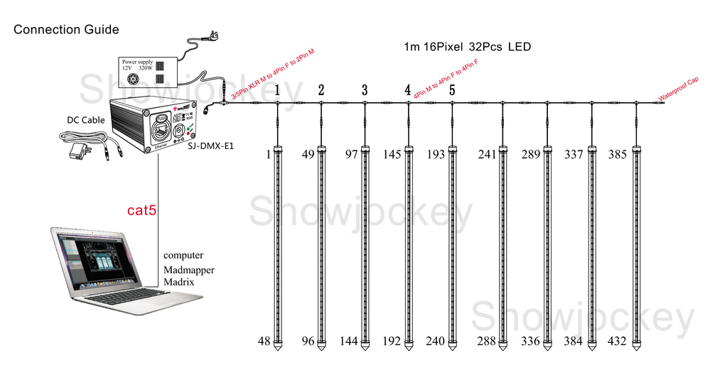 3d led cube circuit diagram