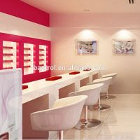 Hottest Products White Color Nail Bar Solid Surface Nail ...