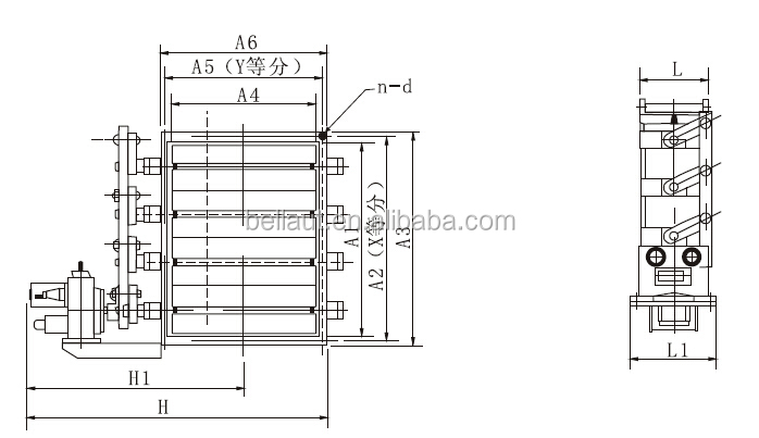 Electric Control Damper (square,Round And Louver Type