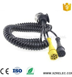 24v abs ebs trailer cable 15pin trailer wiring harness [ 1000 x 1000 Pixel ]