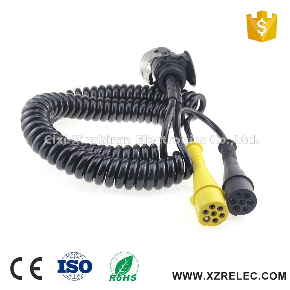 hight resolution of 24v abs ebs trailer cable 15pin trailer wiring harness