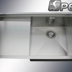 Kitchen Sinks With Drain Boards Unclog Square Corner Stainless Steel Sink Board View