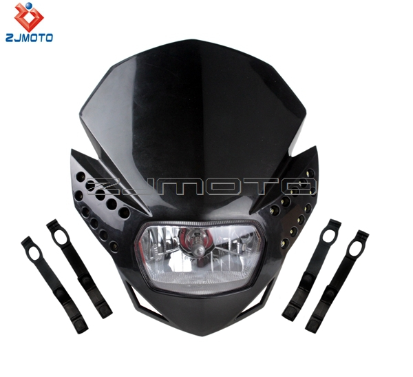 Dibuat Di Cina Dirt Bike Lights Street Fighter Headlight