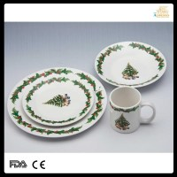 Spode Christmas Tree Dinner Plates