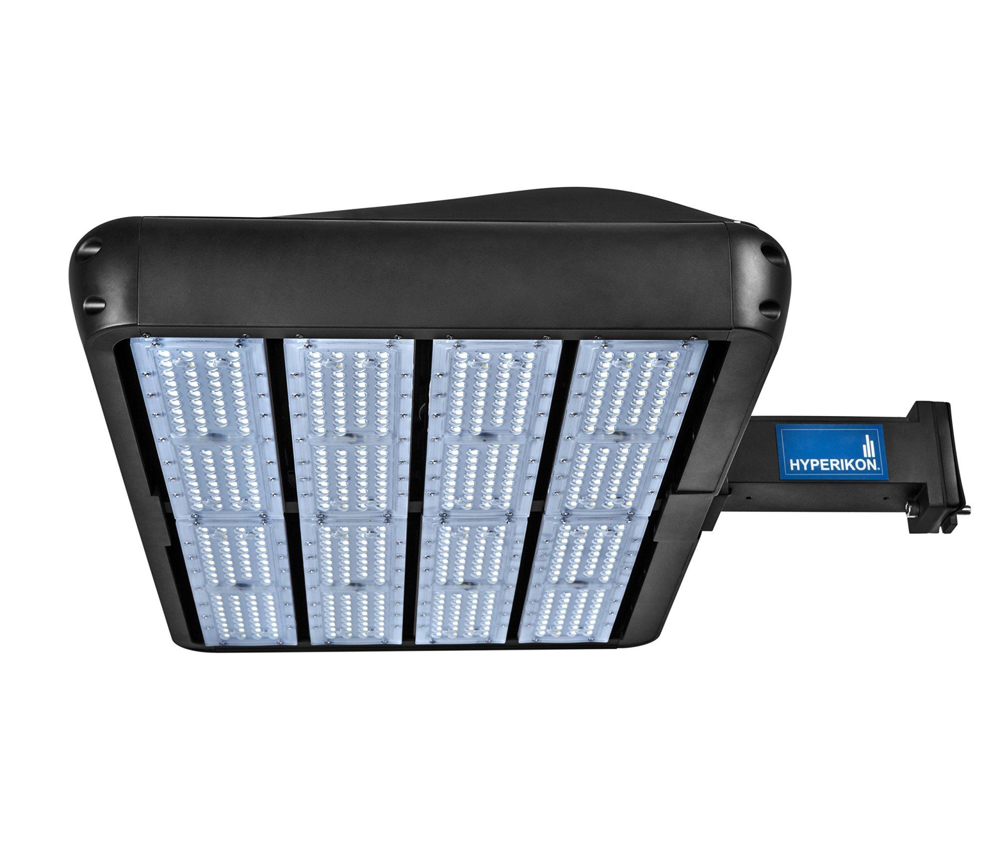 hight resolution of hyperikon parking lot lights led shoebox pole light 400w hid hps replacement