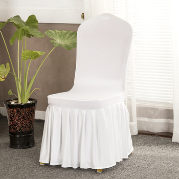 ruched spandex chair cover baby swing youtube high quality banquet used plain dyed covers with skirt buy lycra product on