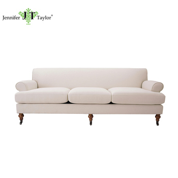 buy sofa uk sage green reclining home furniture antique design big three seater with caster leg hot selling fabric