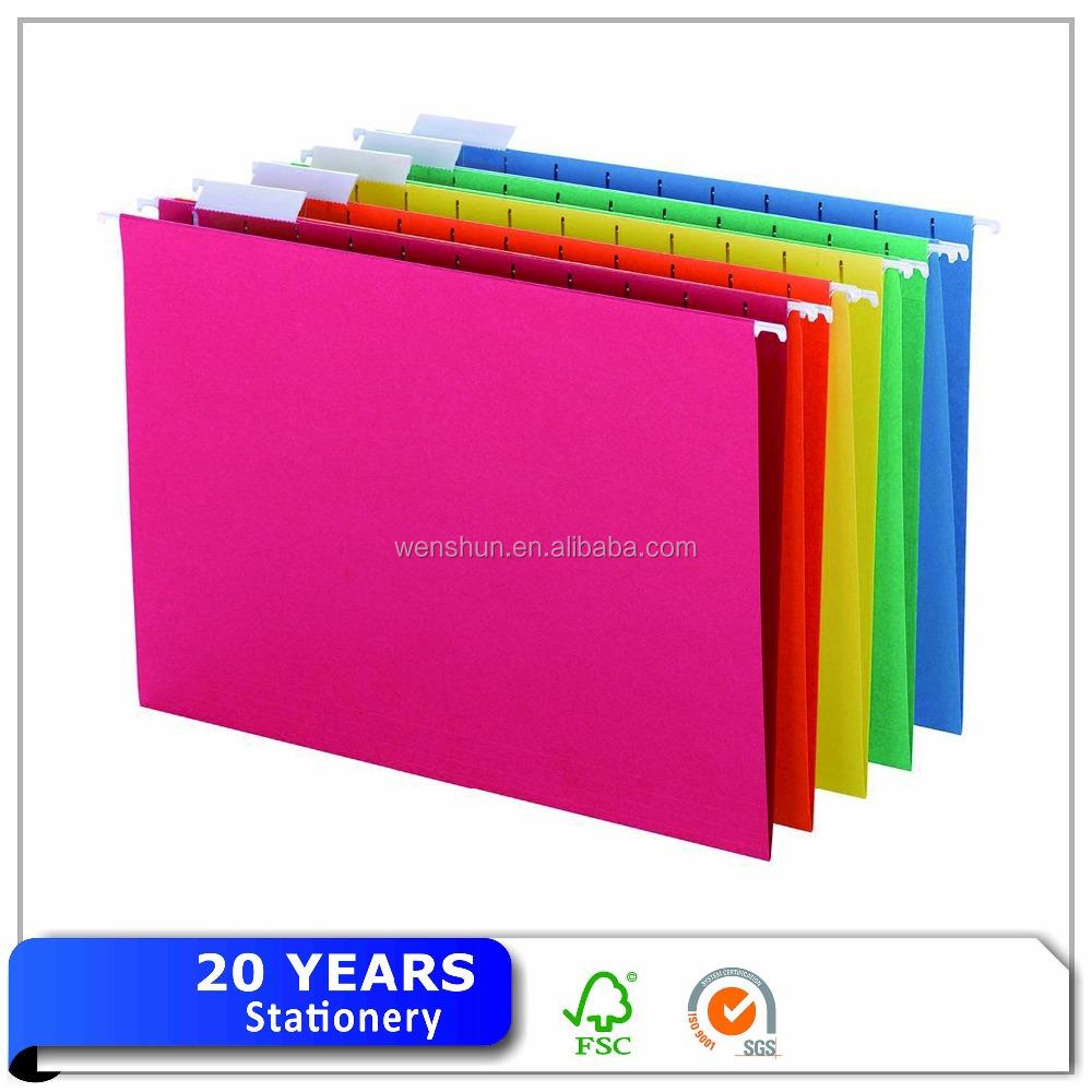 Assorted Colors Manila Paper Legal Size File Folders  Buy