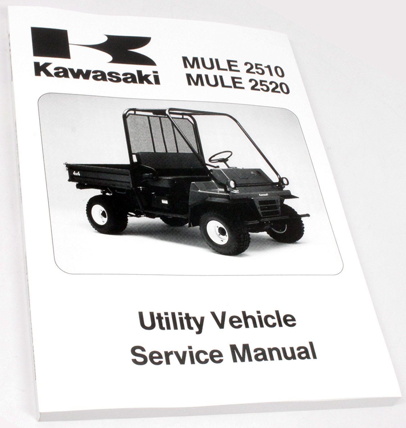 hight resolution of get quotations kawasaki 1993 2000 mule 2500 2510 2520 4x4 service shop manual 99924 1163